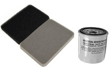 Generac Air Filter 0G84420151 and UGP Oil Filter for 070185D, 070185DS, 070185B