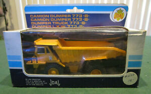 JOAL Caterpillar 773B Dumper Truck, #223, 1:70 scale, blue box, Made in Spain