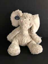 Ganz Heritage Collection Effie Plush Elephant Lovey Security H3566 Cream NEW