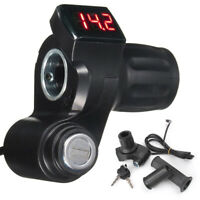 12V-99V Electirc Scooter Ebike Half Twist Digital Throttle Grip Handlebar