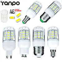 7W LED Corn Light Bulb E27 E12 E26 E14 G9 5730 SMD 12V 24V 110V 220V Lamp RK209