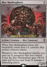 Myr Battlesphere (Myr-Kampfkugel) Commander 2016 Magic