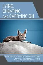 LYING, CHEATING, AND CARRYING ON - NEW LIBRARY BOOK