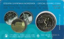 GRIEKENLAND 2 EURO 2004 BU - OLYMPISCHE SPELEN - IN COINCARD
