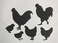 10 SCOTTISH FARM ANIMALS CHICKEN COW GOAT SHEEP HORSE PIG FROGS ETC DIE CUTS