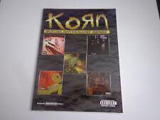 * Korn-Guitar Anthology Series Songbook