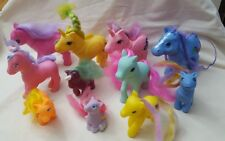 Lot of 11 Colorful  Ponies / Pony made in China