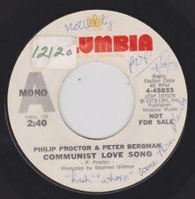 PROCTOR & BERGMAN {70s Novelty} COMMUNIST LOVE SONG / NASI GORING ♫hear promo