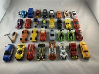 Diecast Toy Car Bundle Job Lot - Hot Wheels, Matchbox, Realtoy - X32 Cars!