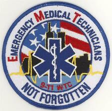 91101 EMT EMS Emergency Medical Technician Not Forgotten Patch