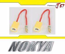 Nokya Wire Harness H3 NoK9123 Fog Light Bulb Socket Female Male Ceramic Plug OE