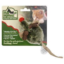 Play-N-Squeak Holiday Reindeer Games Cat Toy