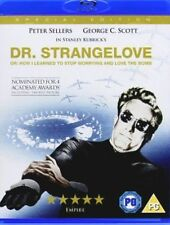 Peter Sellers Dr Strangelove Doctor 1964 Kubrick Classic US Blu-ray Digibook