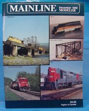 HO,S,N,O MAINLINE MODELER MAGAZINE DECEMBER 1989 TABLE OF CONTENTS PICTURED