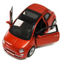 FIAT 500 1:32 Toy Car Metal Model Die Cast Models Diecast Miniature Bronze