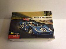 Monogram 1/24 Scarab Rear-Engined Race Car Kit # Pc124/New/Sealed