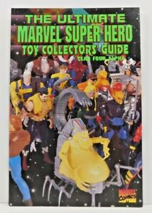 Ultimate MARVEL Super Hero Toy Collectors Guide Year Four Alpha Vol 1 No 4 NF
