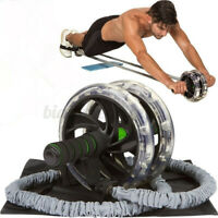 1PC Ab Roller Wheel Pull Rope Waist Abdominal Slimming Fitness Equipments Home