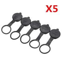 5pcs Car Cigarette Lighter Socket Waterproof Cover Cap 12V Outlet Lid Fitness ss