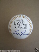 Fred Lynn autographed signed auto Rawlings Gold Glove baseball MLB authenticated