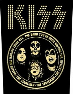 KISS hailing from nyc 2020 GIANT BACK PATCH 36 x 29 cms OFFICIAL MERCHANDISE