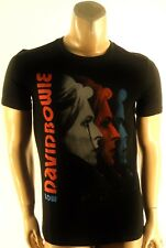 DAVID BOWIE FOREVER 21 NEW MENS BLACK CREWNECK GRAPHIC T-SHIRT sz- S SMALL
