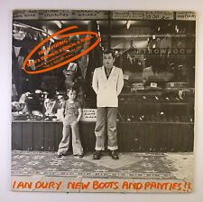 "12"" LP-Ian DURY-NEW BOOTS AND PANTIES!!! - c2040-Slavati & cleaned"