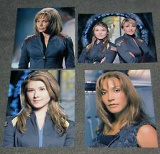 SET OF FOUR STARGATE ATLANTIS 10 x 8 PHOTO'S,BARGAIN LOT,SET! STAR GATE.28