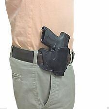 NEW Black Leather Gun Holster For Ruger LC9 & LC9s (9mm)