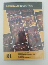 LES MILLS BODYATTACK 81 CD DVD and Choreography Notes Body Attack home workout