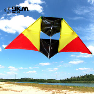 3D Single Line Kite Breeze Easy Fly with Handle Line Outdoor Fun Sport Kids Game