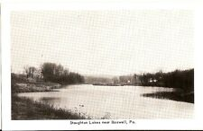 postcard Staughton Lakes Boswell, Pa unused B&W pc