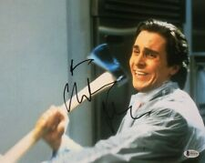 Christian Bale signed autographed 11x14 photo American Psycho Beckett COA