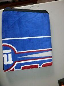 """New York Giants Beach Towel 48"""" X 60"""" beach, new vtg The outdoor team towel, NY"""