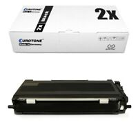 2x Eurotone Éco Toner Compatible pour Brother MFC-L-2701-DW HL-L-2300-D