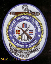 ORLANDO US NAVY NAVAL TRAINING CENTER NTC PATCH BOOT CAMP PIN UP RECRUIT SAILOR