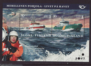 Finland 2012 MNH - The North by the Sea - Norden Joint Issue -  m/sheet