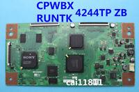 SONY T-Con Board CPWBX 4244TP ZB RUNTK 4244TP ZB CPWBX RUNTK 4244TP ZB SHARP