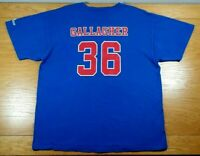 SEAN GALLAGHER Iowa Cubs SGA Chicago Cubs AAA Minor League Team T-Shirt Men's XL