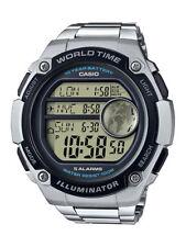 Casio Collection Herrenuhr AE-3000WD-1AVEF Digital Silber