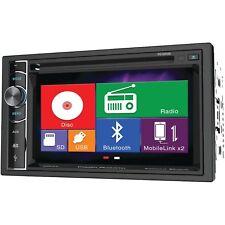NEW Car Audio Media CD Head Unit.2 Din.Amplifier Receiver.FM.AM.Tuner.Bluetooth.