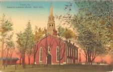 Trappe Pennsylvania Augustus Lutheran Church Antique Postcard K90344