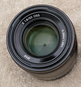Sony FE 50mm F/1.8 Full Frame Portrait Lens SEL50F18, excellent condition