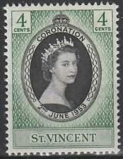 St. Vincent postfris 1953 MNH 167 - Coronation Elisabeth II (008)