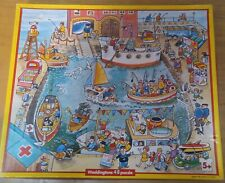 Harbour Scene 48 piece Vintage Jigsaw on extra thick board by Waddingtons