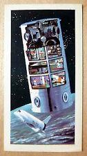 Brooke Bond RACE INTO SPACE card 45. Post-Skylab 12-man space station.