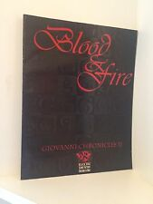 Blood & Fire: Vampire The Masquerade, Giovanni Chronicles II RPG