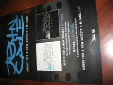 JOHN CALE music for a new society m:fans poster VELVET UNDERGROUND FREE shipping