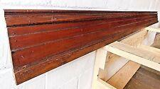 1890s Wood Antique BASE TRIM Molding & Cap VICTORIAN Three Piece Millwork ORNATE