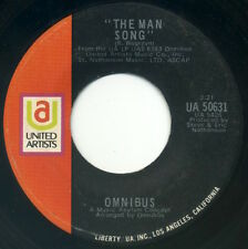 """OMNIBUS The Man Song/It's All In Your Heart 7"""" 1970 United Artists VG"""
